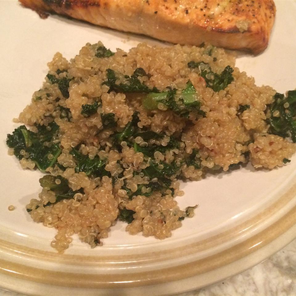 Garlic Kale Quinoa barbara