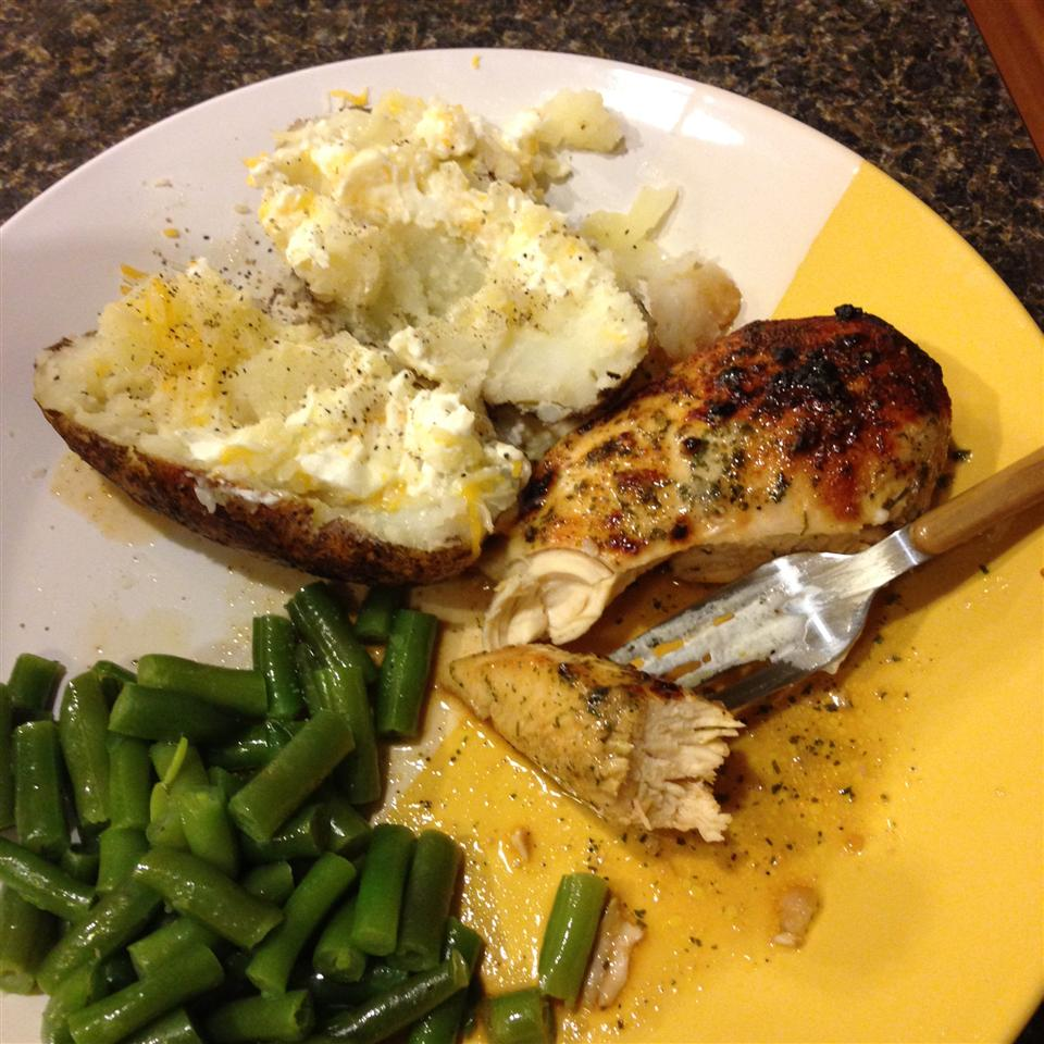 Marinated Ranch Broiled Chicken Ciarra