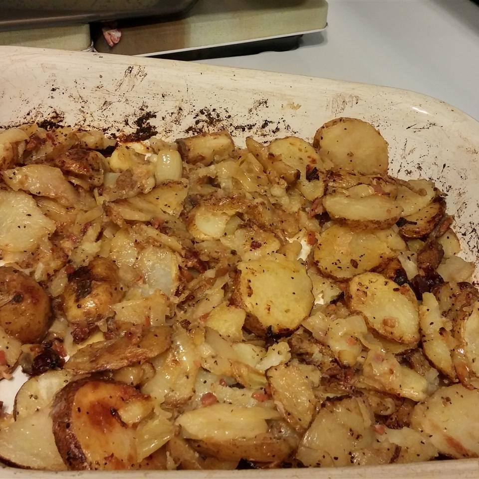 Oven Fried Potatoes I Roz Simms