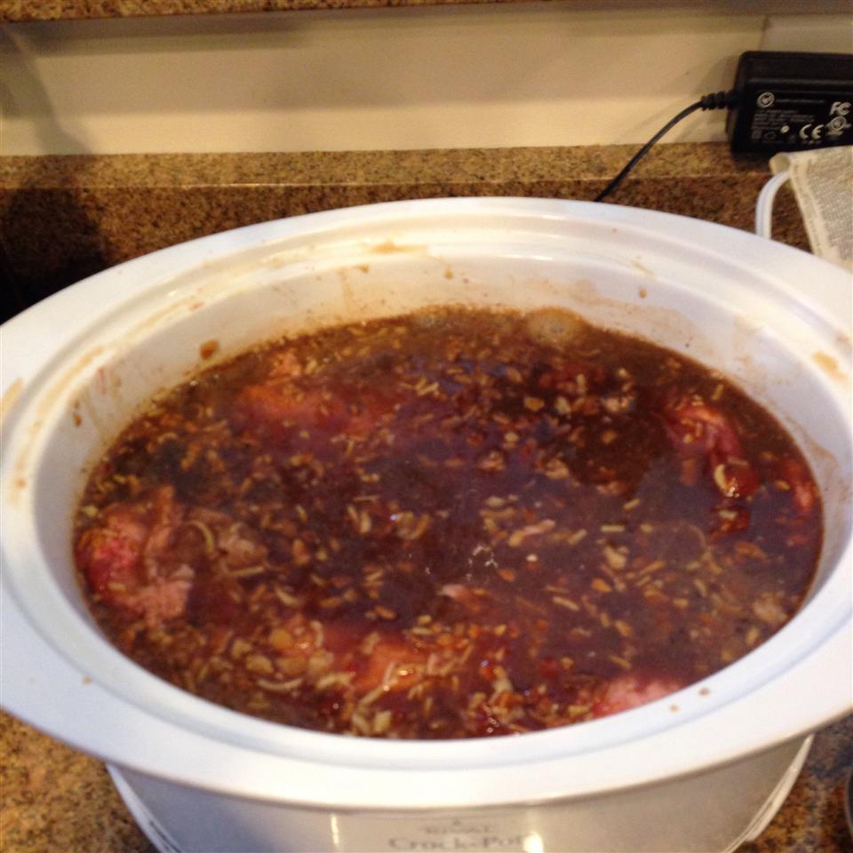 Oven Barbecued Beef Brisket II Casey