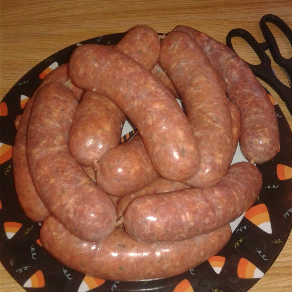 Homemade Sweet Italian Sausage (Mild or Hot)