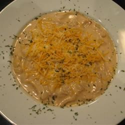 Creamy Vidalia Onion Soup With Sugar On Top