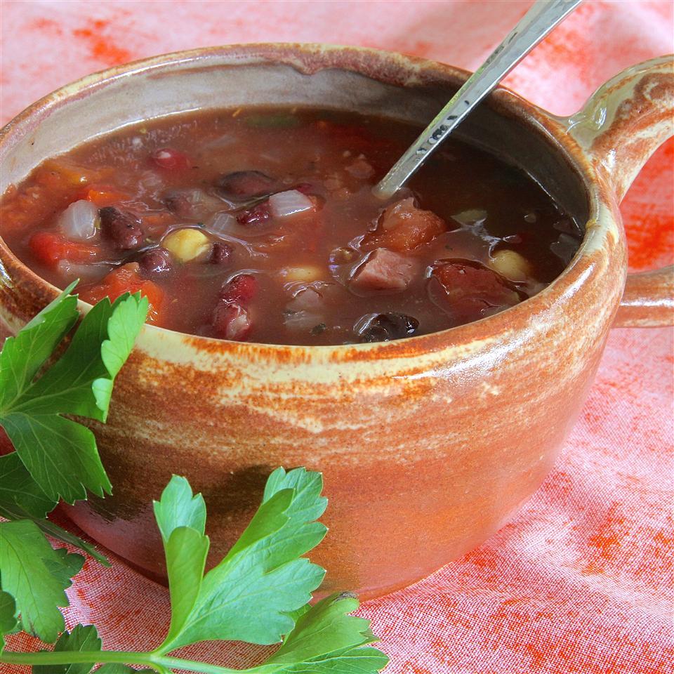 Italian Three Bean Soup SPOONIES