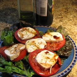 Tomato Mozzarella Salad with Balsamic Reduction Jen