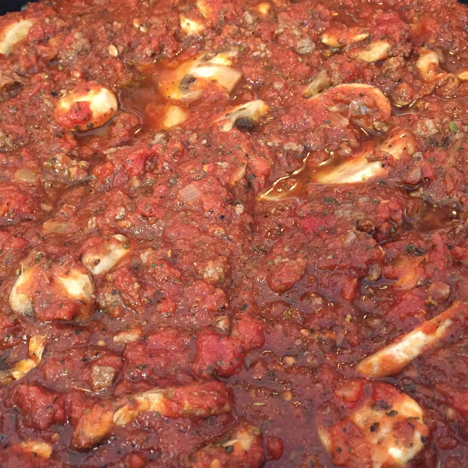 Tami's Red Sauce: Bolognese Tomato Sauce with Ground Beef