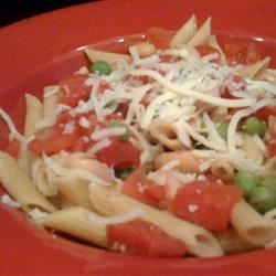 Greek Pasta with Tomatoes and White Beans StunnaShades
