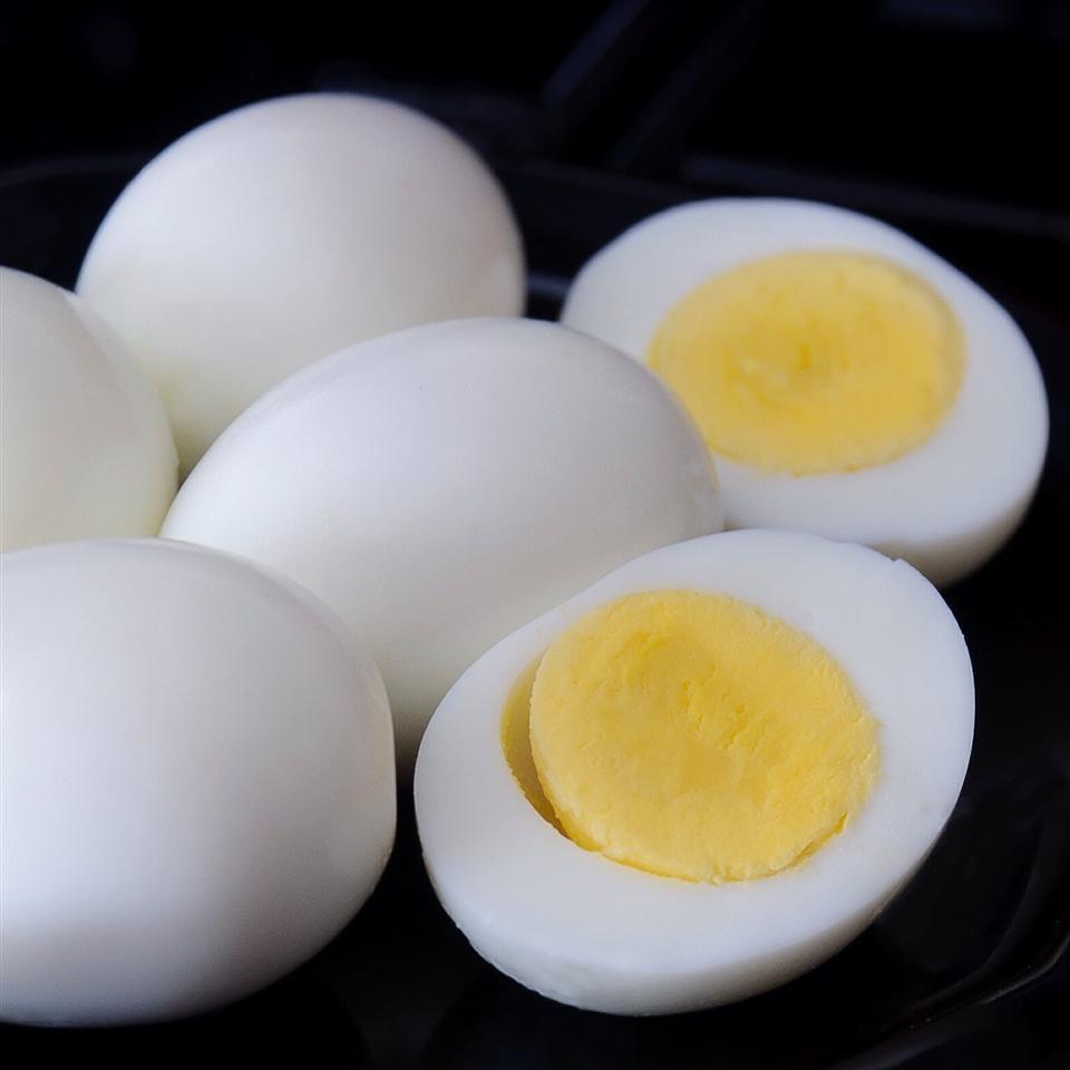 Hard-Steamed Eggs
