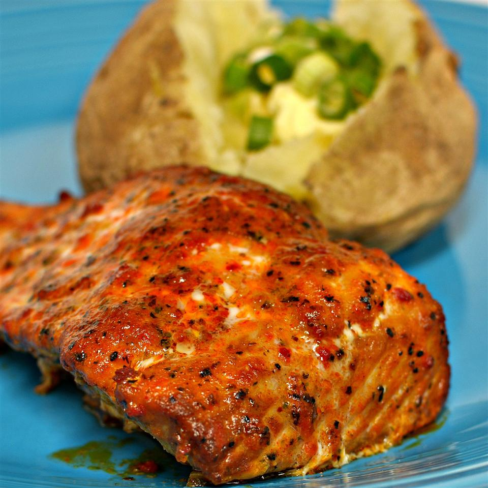 Barbeque Roasted Salmon