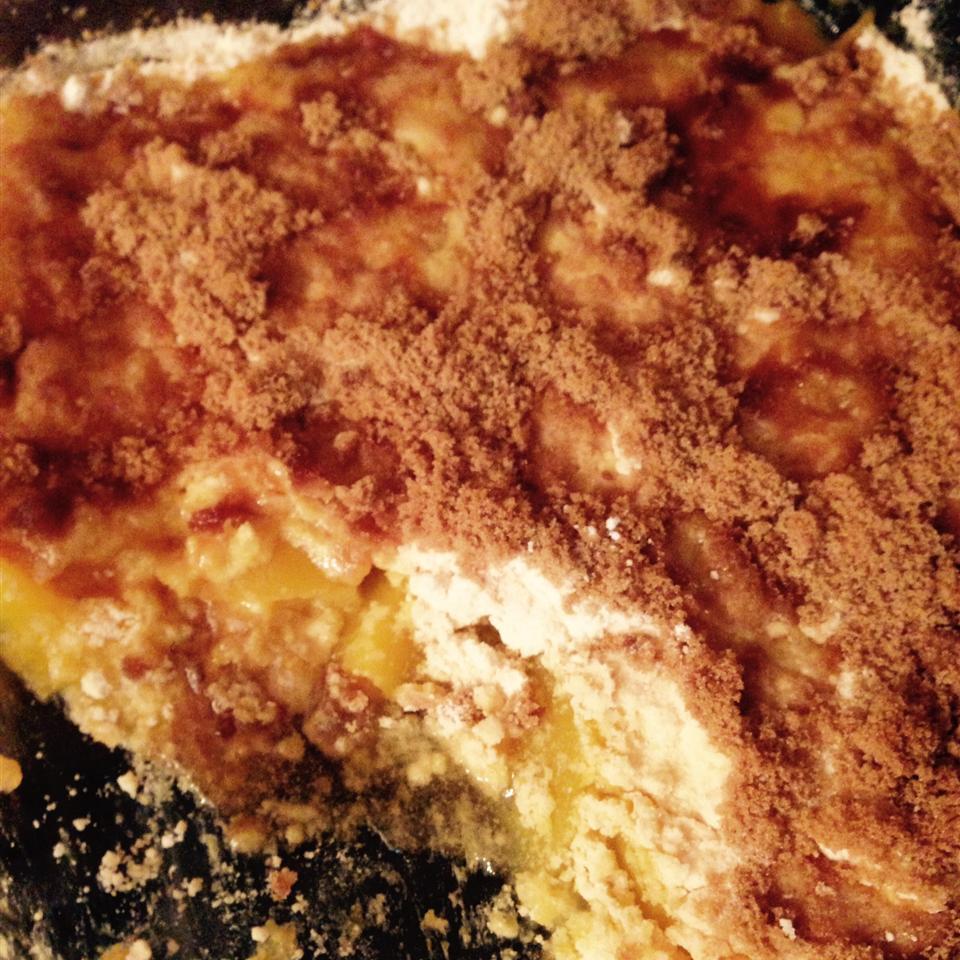 Peach Crumble Cake bosemell