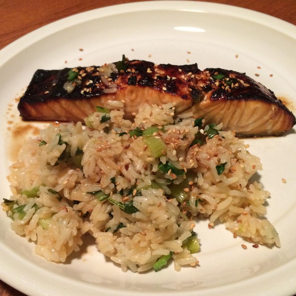 Bok Choy Steamed Rice Becky1234