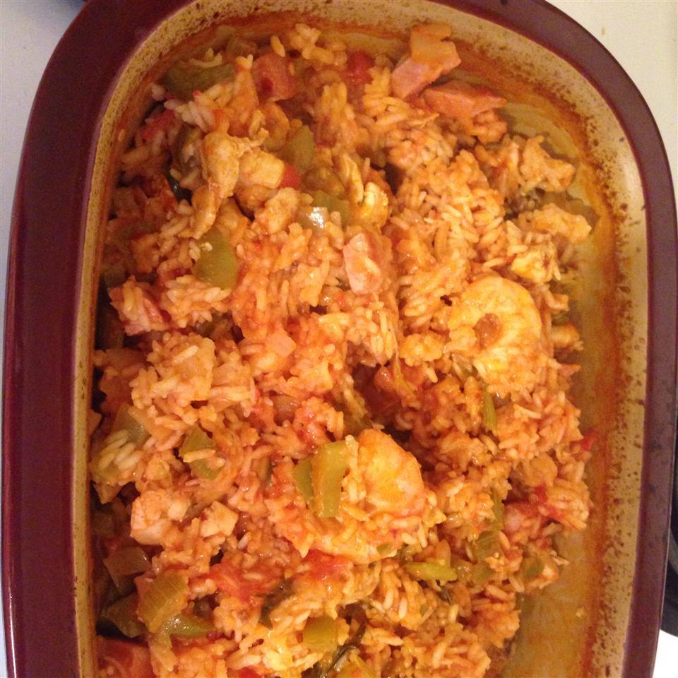 Oven Baked Jambalaya Marybeth Obrien