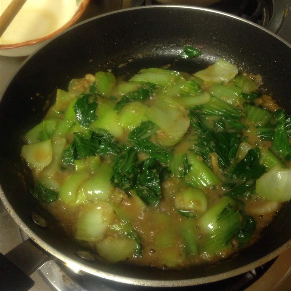Spicy Bok Choy in Garlic Sauce Teezy