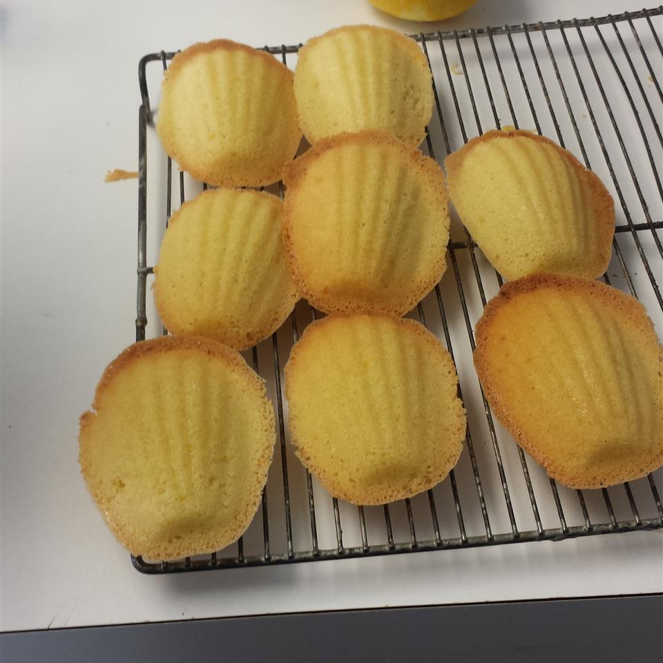 French Butter Cakes (Madeleines) Kirby