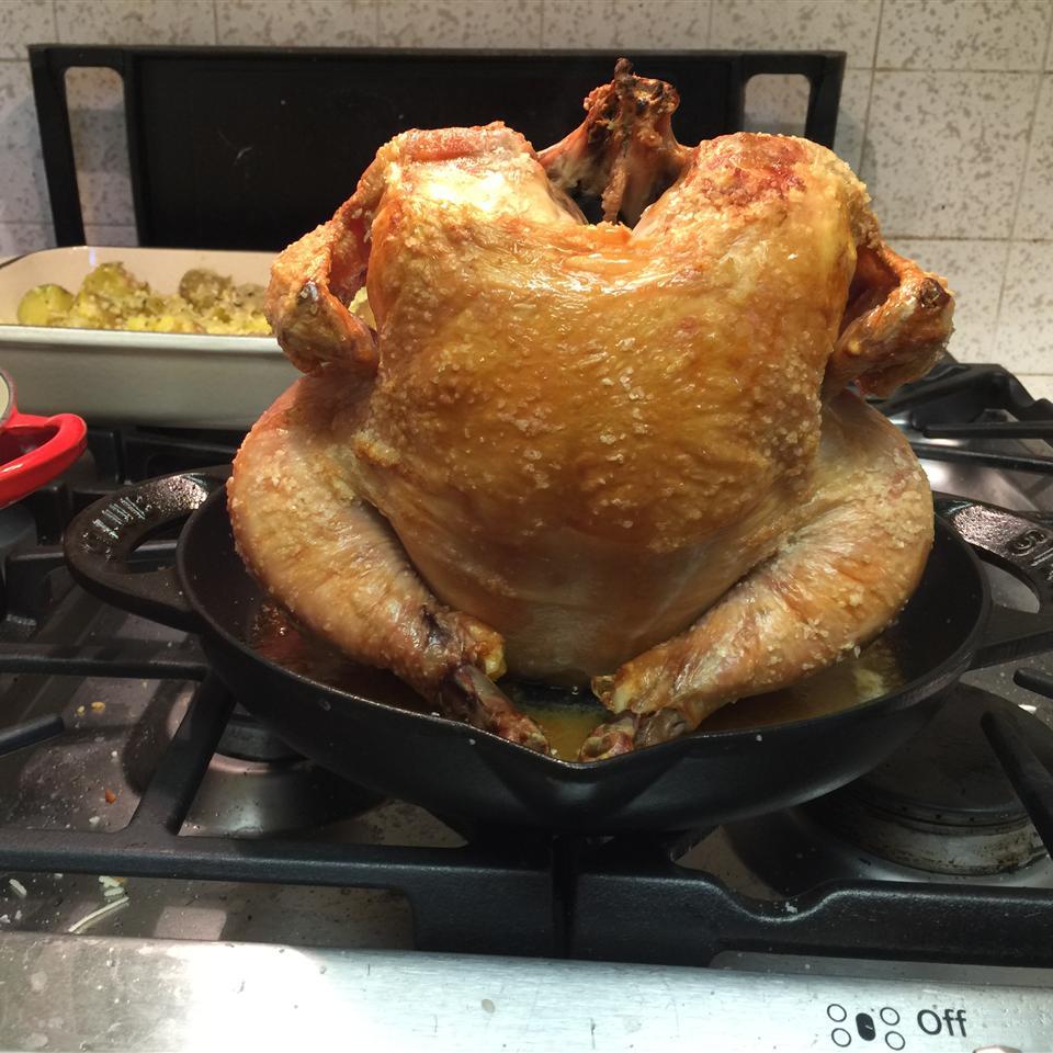 Chef John's Salt Roasted Chicken