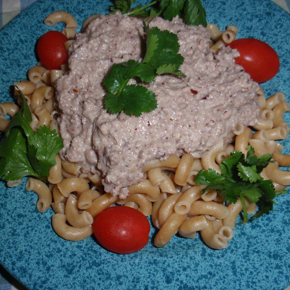 Mushroom Pesto sueb