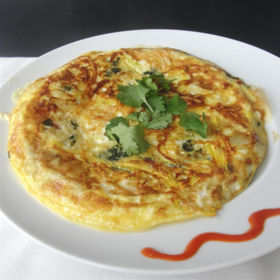 Squash Zoodler Omelet