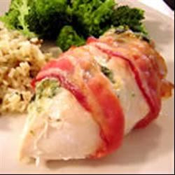 Stuffed and Wrapped Chicken Breast Melanie Miller