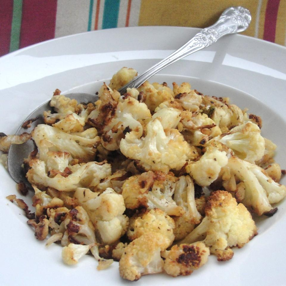 Dijon Roasted Cauliflower Rock_lobster