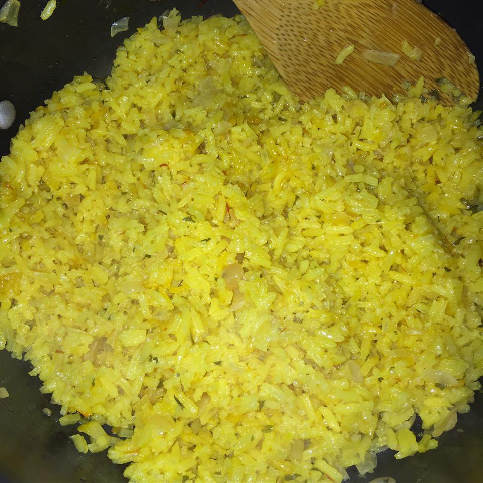 Stovetop Saffron Rice SLBOOTH