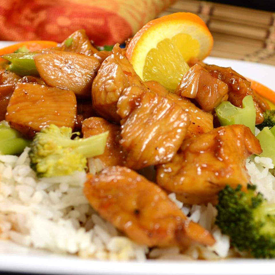 Orange, Honey and Soy Chicken