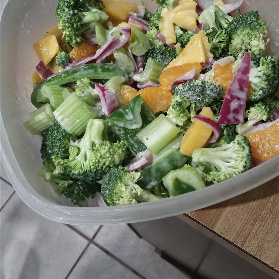 Broccoli Mango Salad JAZMIN MANZANO