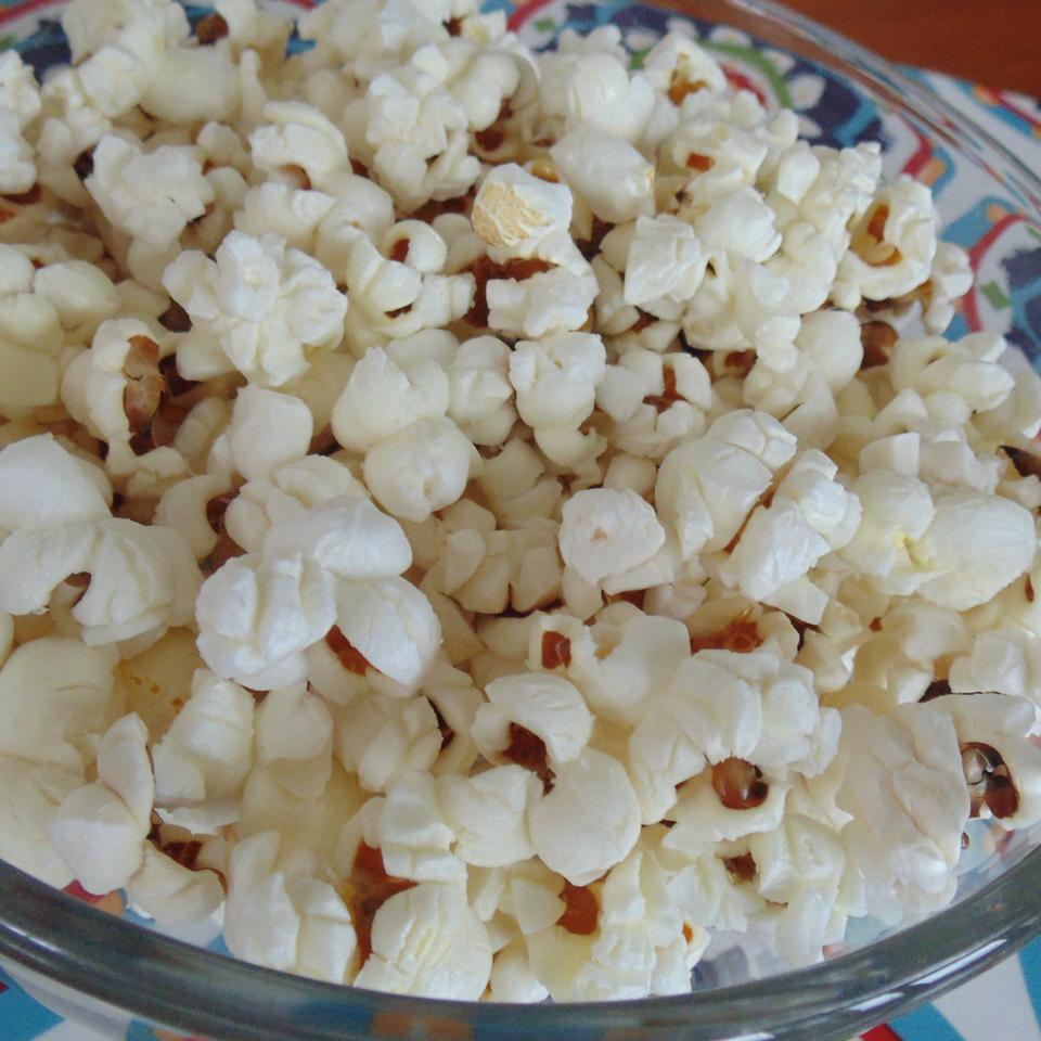 Coconut Oil Popcorn Christina