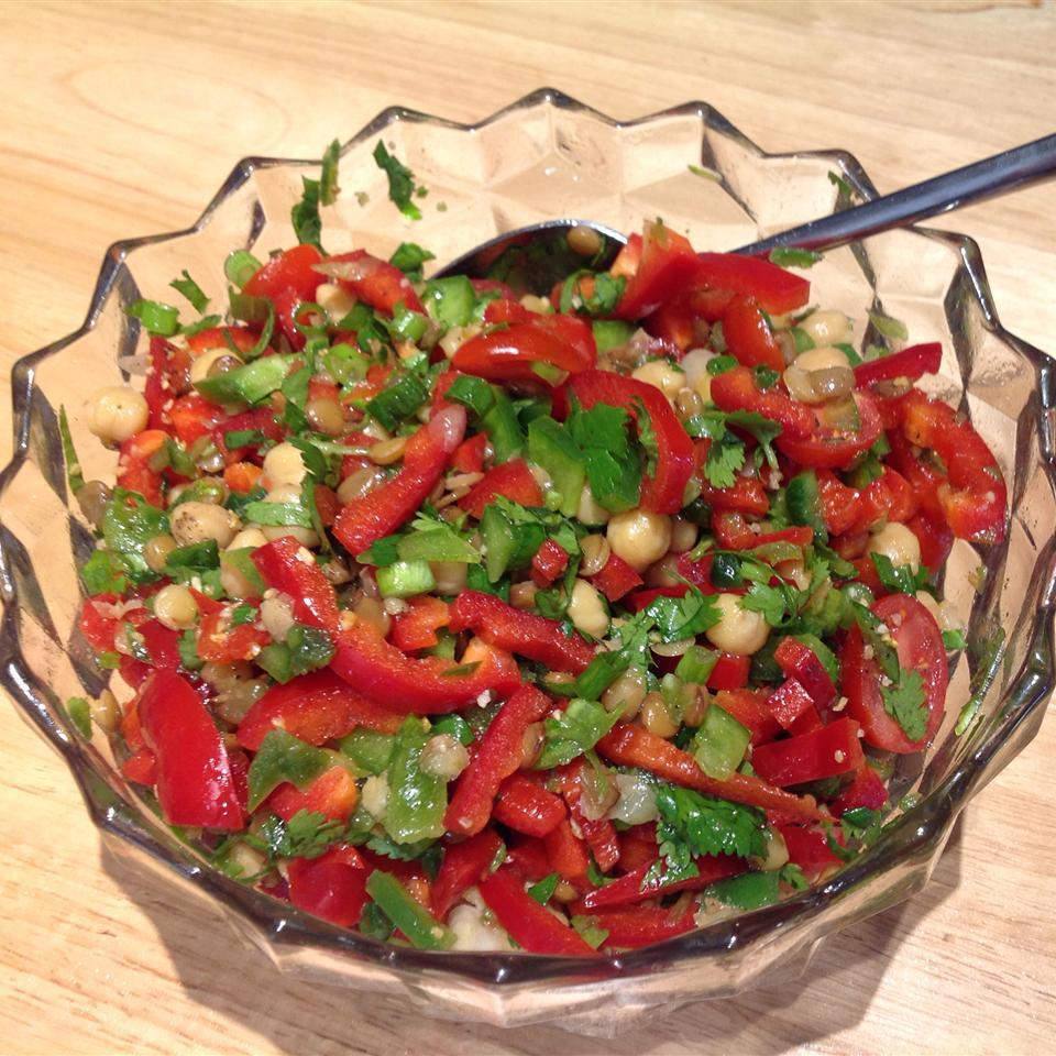 Moroccan Lentil Salad OkieDirt