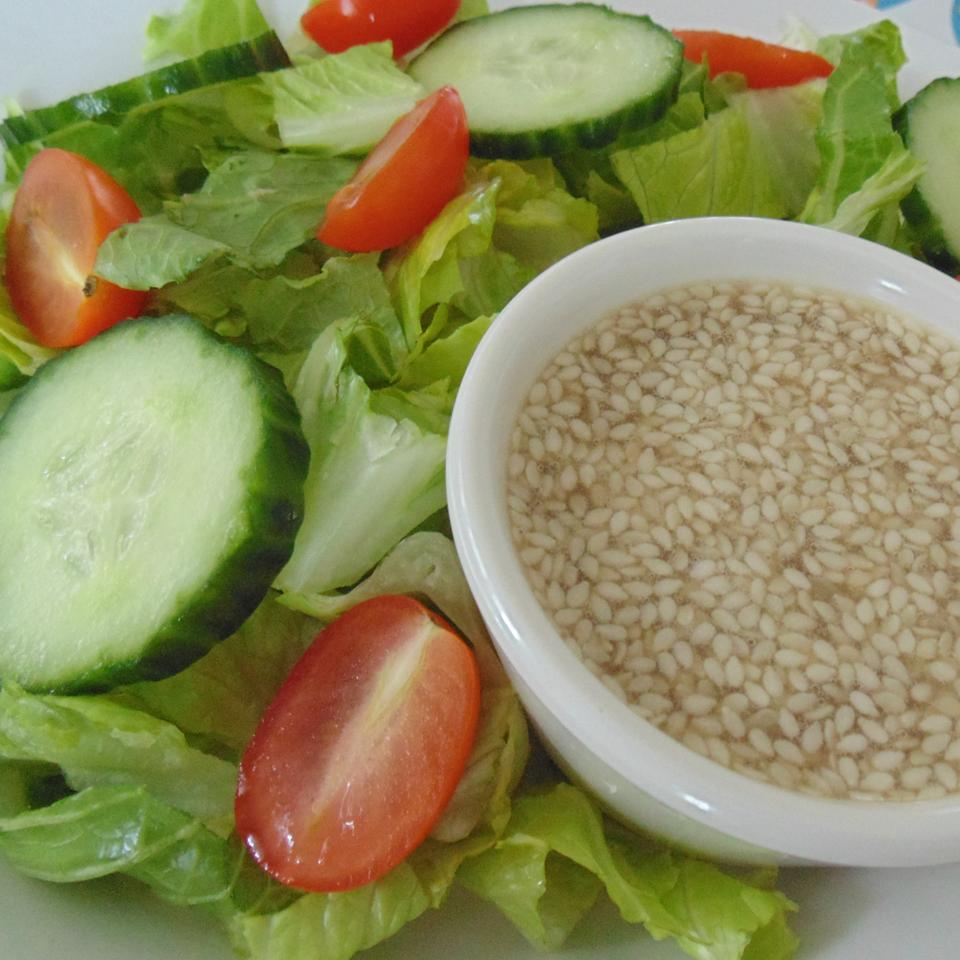Sweet and Sour Sesame Seed Salad Dressing ANTHONYTHEOBALD