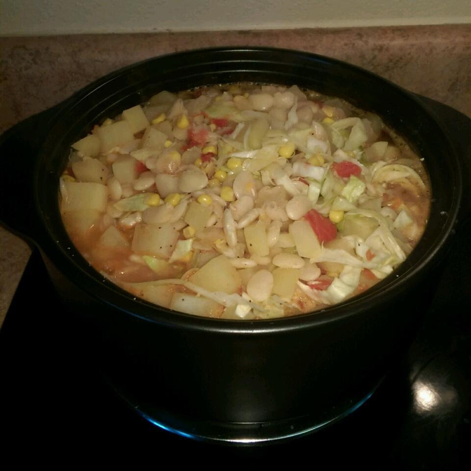 Sour Cream Vegetable Soup