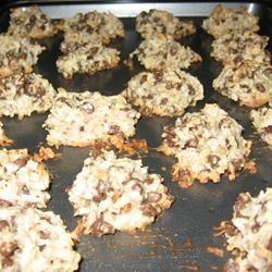 Almond Chocolate Coconut Cookies I David L. Barnes