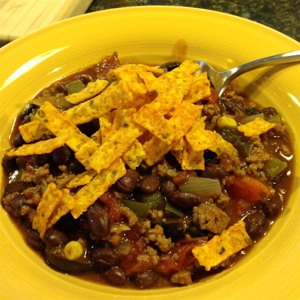 Slow Cooker Taco Soup with Ranch Dressing Mix Becky