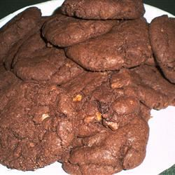 Chocolate Toffee Cookies I
