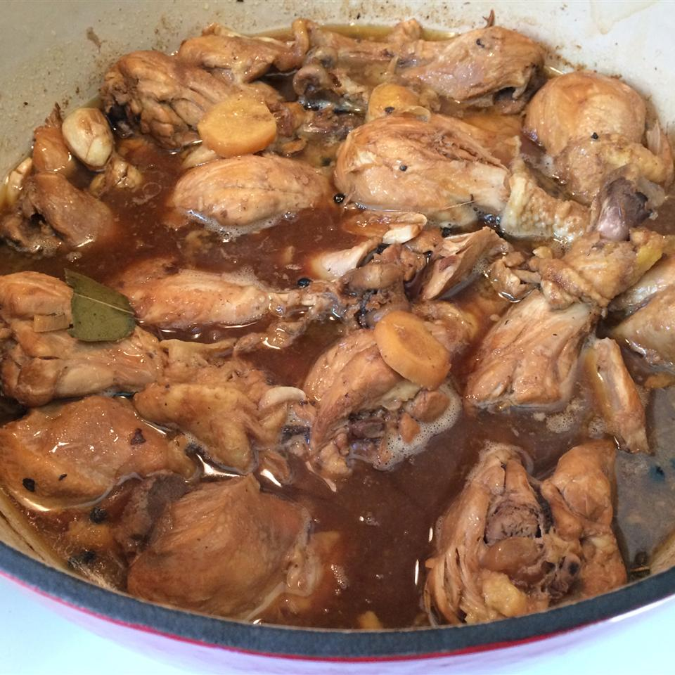 Adobo Chicken with Ginger Penny