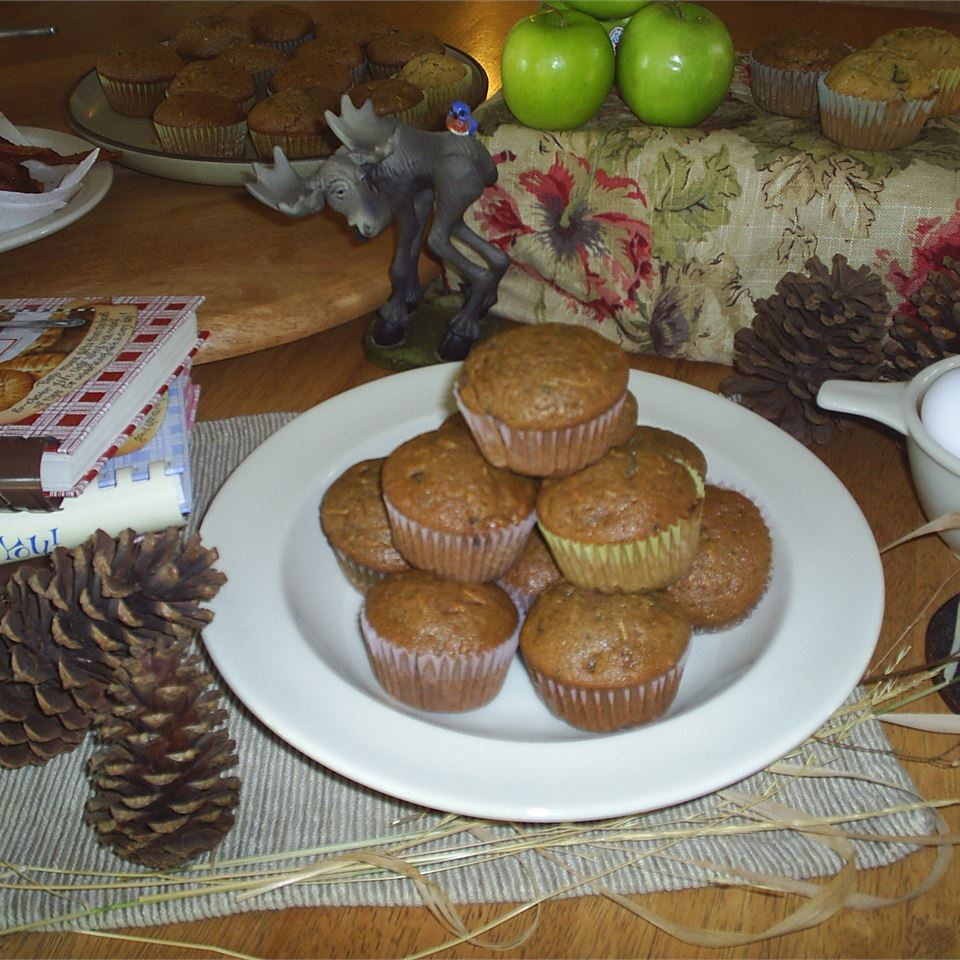 Chocolate Zucchini Muffins chef_king