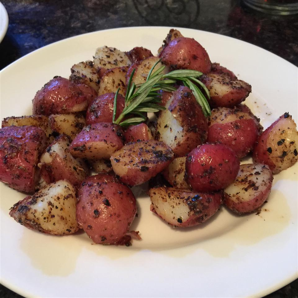 Pan-Roasted Marble Potatoes