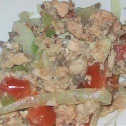Indian-Style Salmon Fry sueb