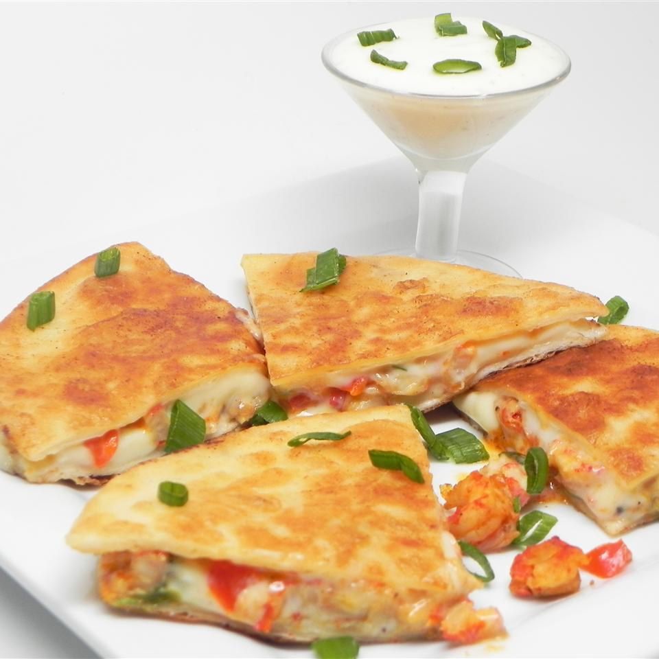 Crawfish Quesadillas