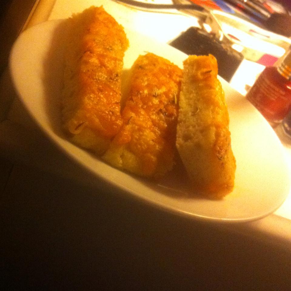 Garlic Cheese Flatbread