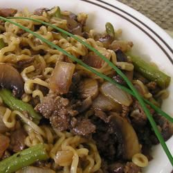 Gel's Green Beans and Beef Angelica