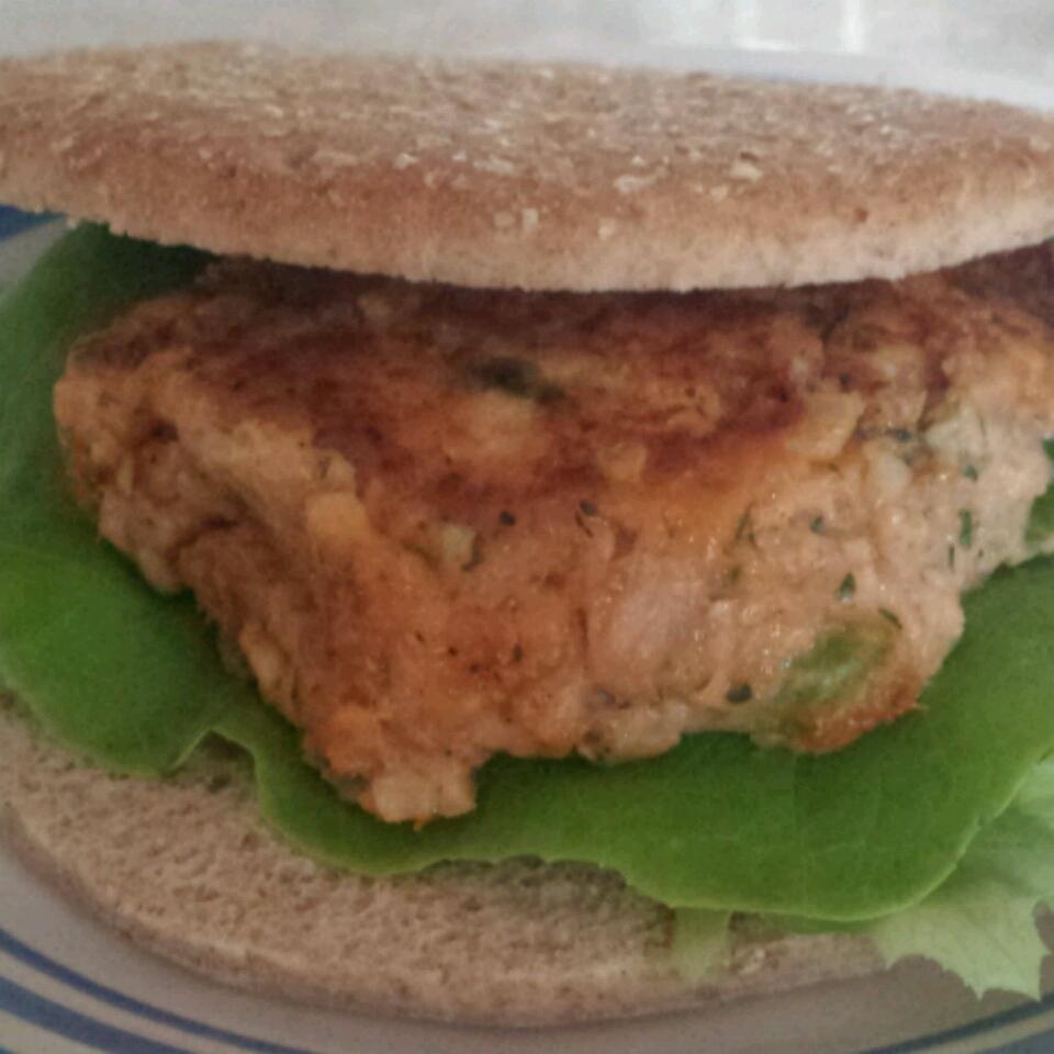 Tasty Tuna Burgers Krystal Parker