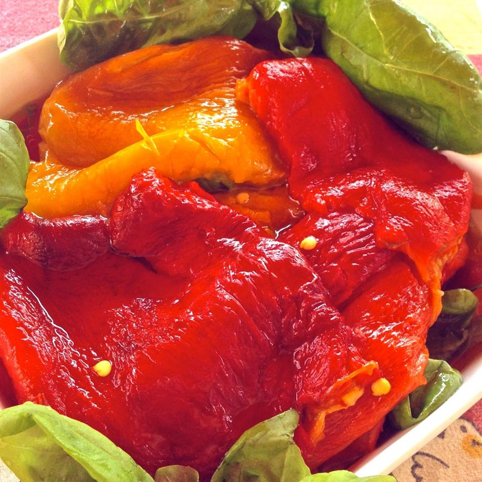 Roasted Peppers in Oil (Peperoni Arrostiti Sotto Olio) Buckwheat Queen