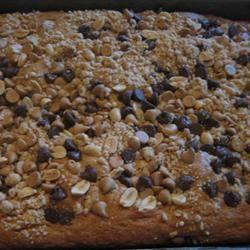 Peanut Crunch Cake Jen