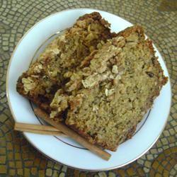 Banana Bread with Oat-Streusel Topping Jillian