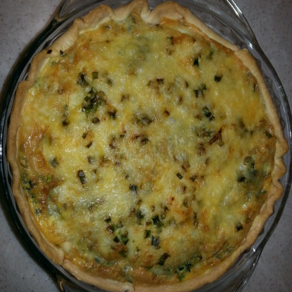 Splendid Spinach and Mushroom Quiche