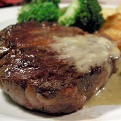 Steaks With Roquefort Sauce