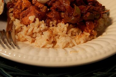 quick mango chicken curry recipe
