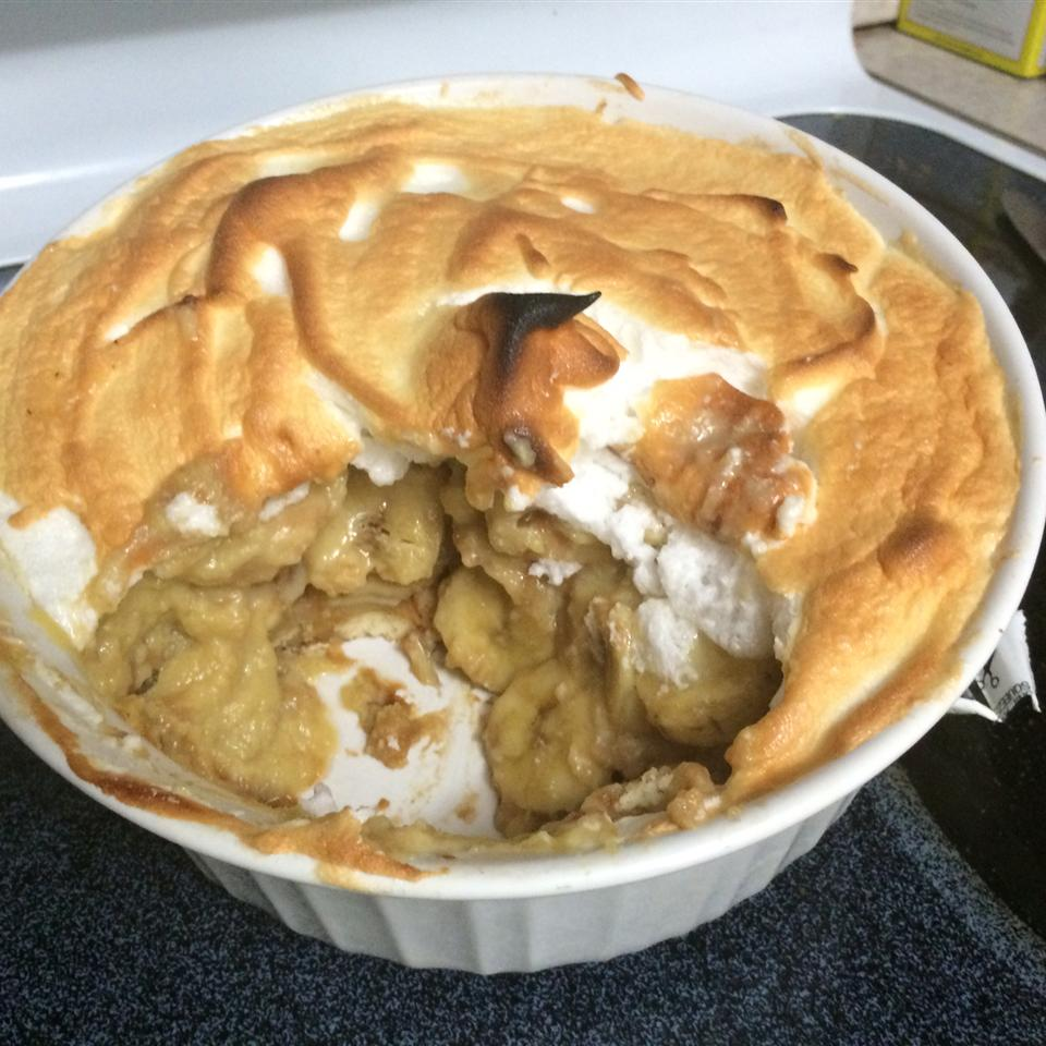 Banana Pudding with Meringue