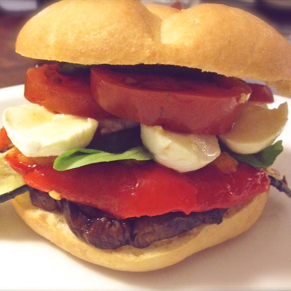 Best Grilled Vegetable Sandwich