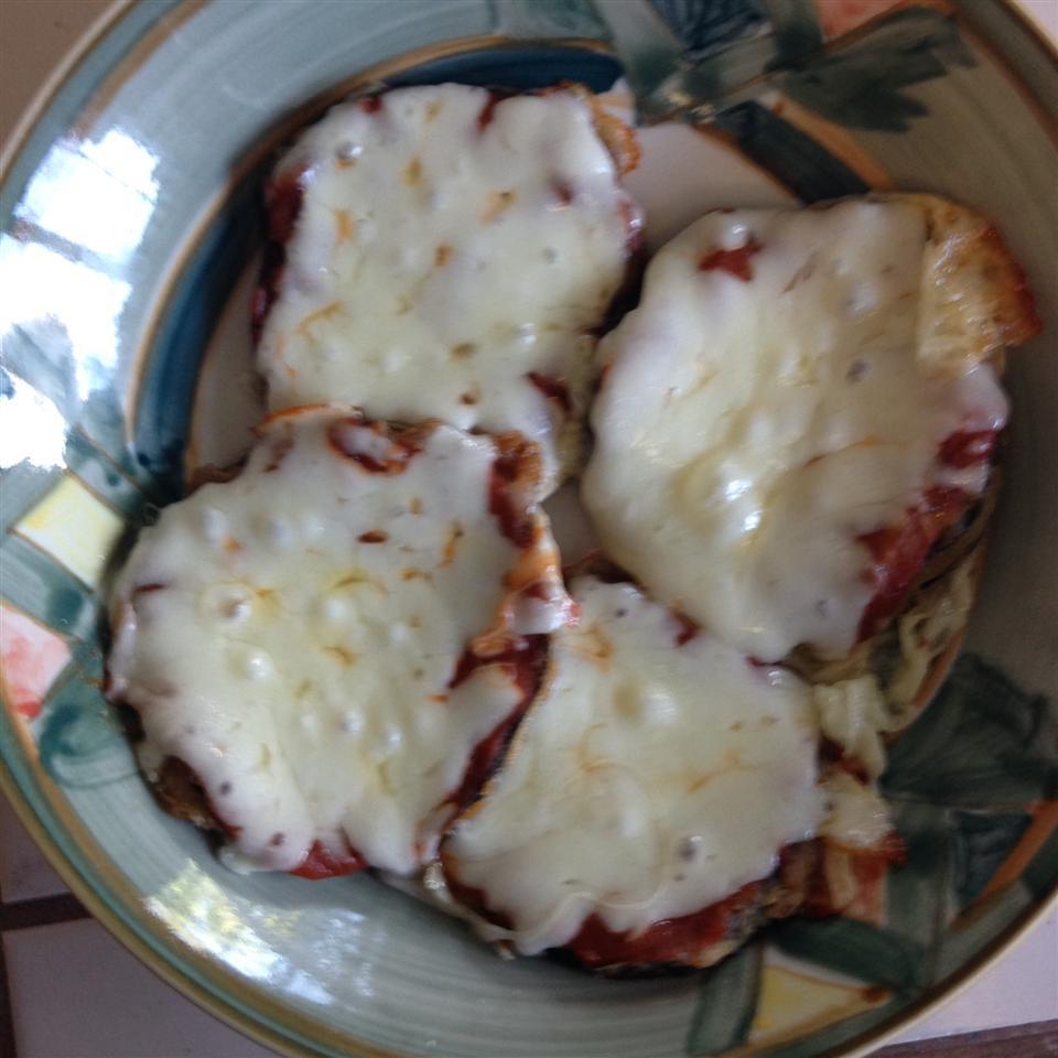 Eggplant Pizzas kristie