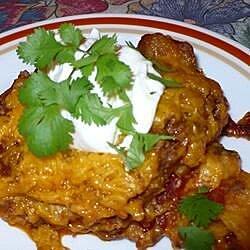 enchilada casserole ii recipe